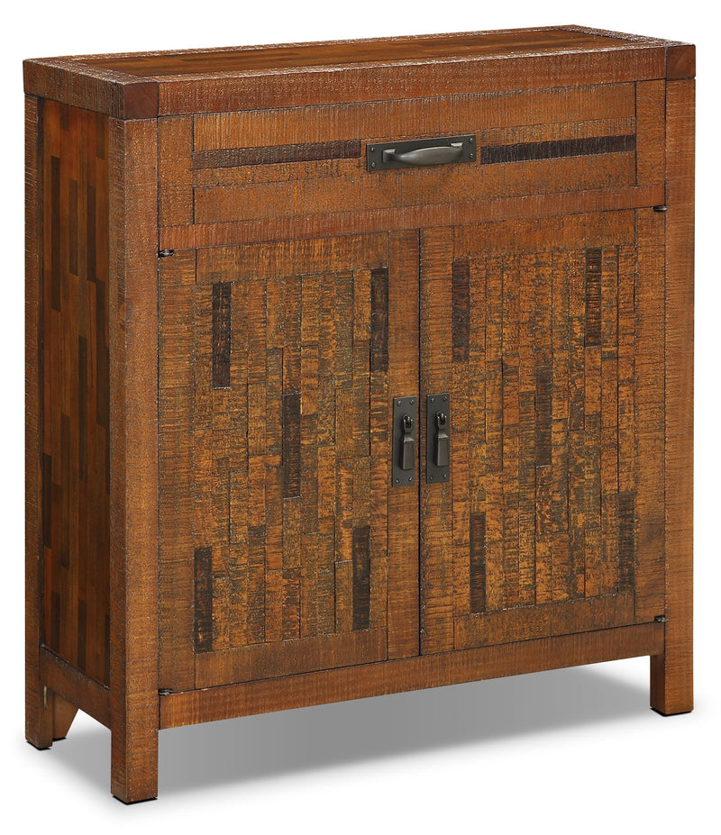 Acacia 2-Door Accent Cabinet – Brown|Armoire décorative Acacia à 2 portes - brune