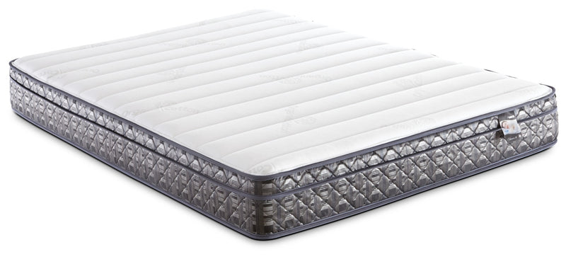 Springwall Endeavour 4 Euro-Top Firm Queen Mattress|Matelas ferme à Euro-plateau Endeavour 4 de Springwall pour grand lit