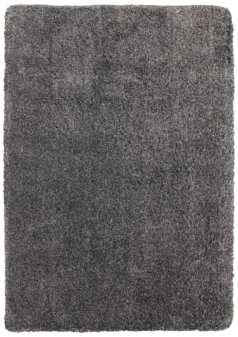 Loft Charcoal Grey Shag Area Rug – 7' x 10'|Carpette à poil long Loft anthracite – 7 pi x 10 pi