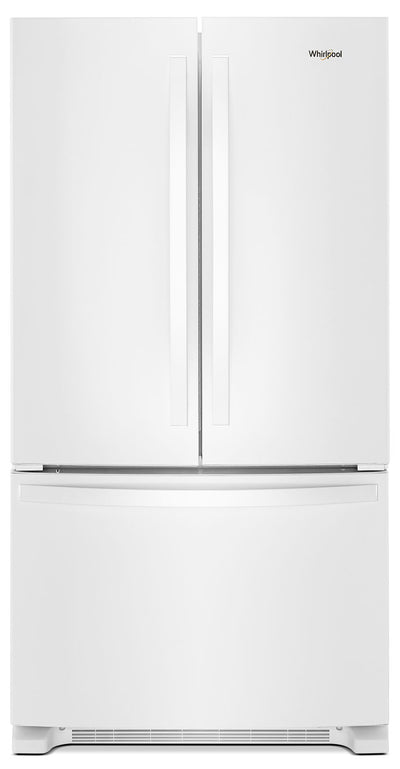 Whirlpool® 25 Cu. Ft. French-Door Refrigerator with Internal Water Dispenser – WRF535SWHW - Refrigerator in White