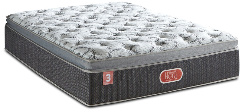 Beautyrest® Hotel Diamond 3 Firm Hi-Loft Pillow-Top King Mattress|Matelas ferme à plateau-coussin épais Hotel Diamond 3 Beautyrest pour très grand lit