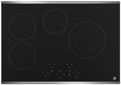 "GE 30"" Electric Cooktop with Touch Controls – JP5030SJSS