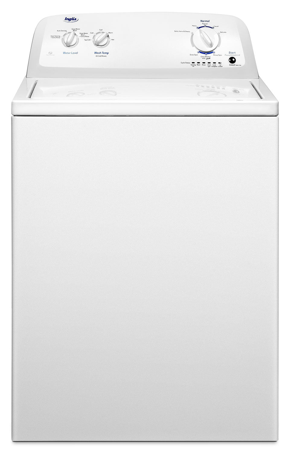 Inglis 4 0 Cu Ft Top Load Washer Itw4871fw The Brick