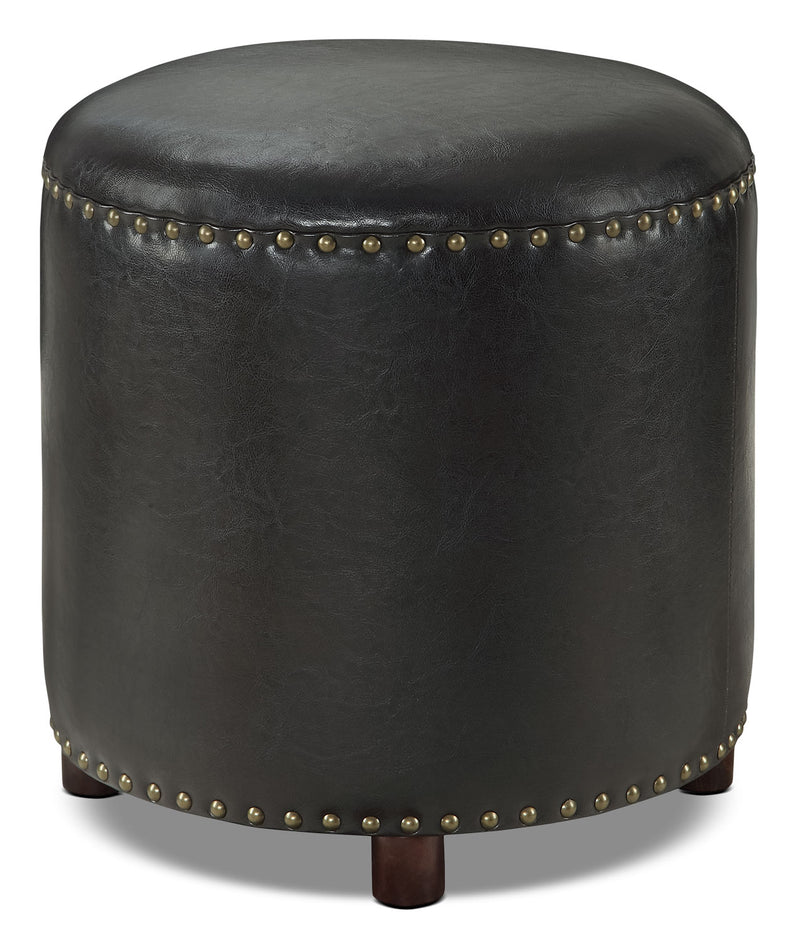 Chilton Ottoman – Black|Pouf Chilton - noir