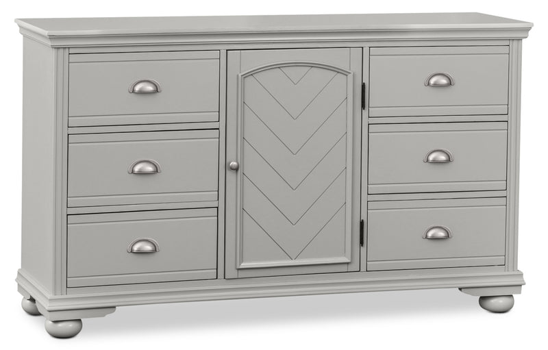 Brooke Dresser – Grey|Commode Brooke - grise
