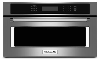 "KitchenAid 1.4 Cu. Ft. 27"" Built-In Convection Microwave Oven - Stainless Steel - Built-In Microwave in Stainless Steel"