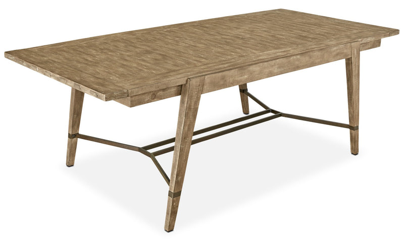 Bluff Heights Dining Table - Weathered Nutmeg|Table de salle à manger Bluff Heights - muscade vieillie|BLHTCDTB