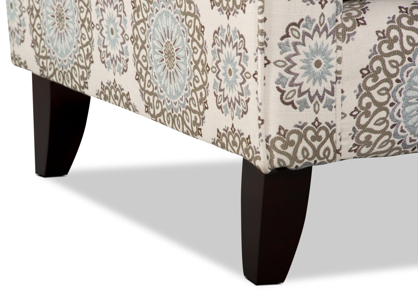 Tula Fabric Accent Chair Brianne Twilight The Brick