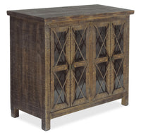 Makati Accent Cabinet – Brown