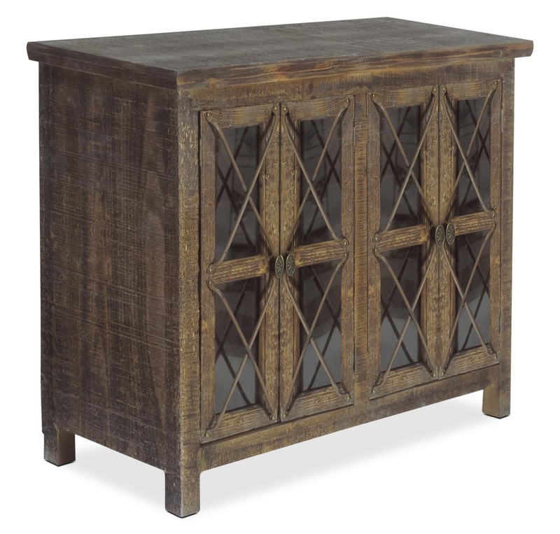 Makati Accent Cabinet – Brown|Armoire décorative Makati - brune|MAKWDACC