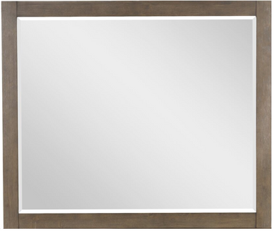 Sweden Mirror - Modern style Mirror in Grey Pine