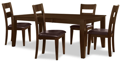 Dakota 5 Piece Casual Dining Package|Coin-repas Dakota 5 pièces|1289VPK5
