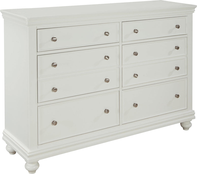 Bridgeport Dresser – White|Commode Bridgeport - blanche
