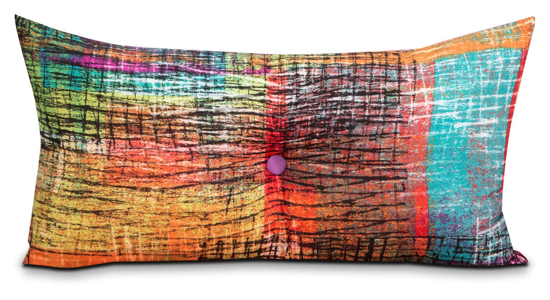 Etched Decorative Pillow|Coussin décoratif Etched