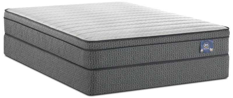 Serta Always Comfortable® Alberto Euro-Top Queen Mattress Set|Ensemble matelas à Euro-plateau Alberto Toujours Confortable de Serta pour grand lit