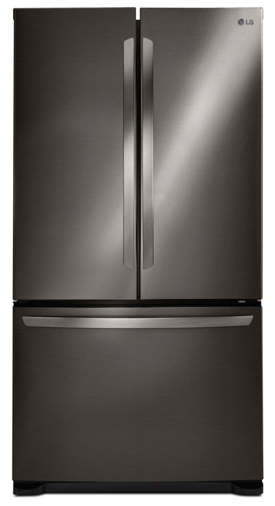 "LG 24 Cu. Ft. 33"" French-Door Refrigerator with Smart Cooling System – LFC24786SD