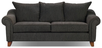 Reese Chenille Sofa - Dark Grey - Contemporary style Sofa in Dark Grey