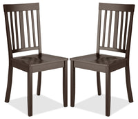 Atwood Dining Chair, Set of 2 – Cappuccino