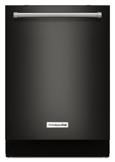 KitchenAid Built-In Top-Control Dishwasher with Dynamic Wash Arms – KDTM404EBS|Lave-vaisselle encastré KitchenAid – KDTM404EBS|KDTM404E