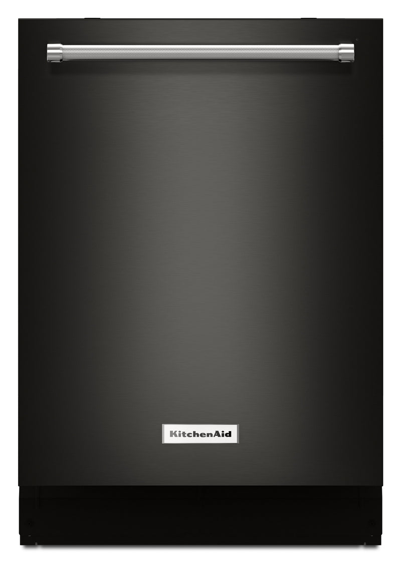 KitchenAid Built-In Top-Control Dishwasher with Dynamic Wash Arms – KDTM404EBS|Lave-vaisselle encastré KitchenAid – KDTM404EBS