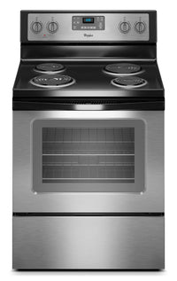 Whirlpool 4.8 Cu. Ft. Electric Range with AccuBake® System - Stainless Steel