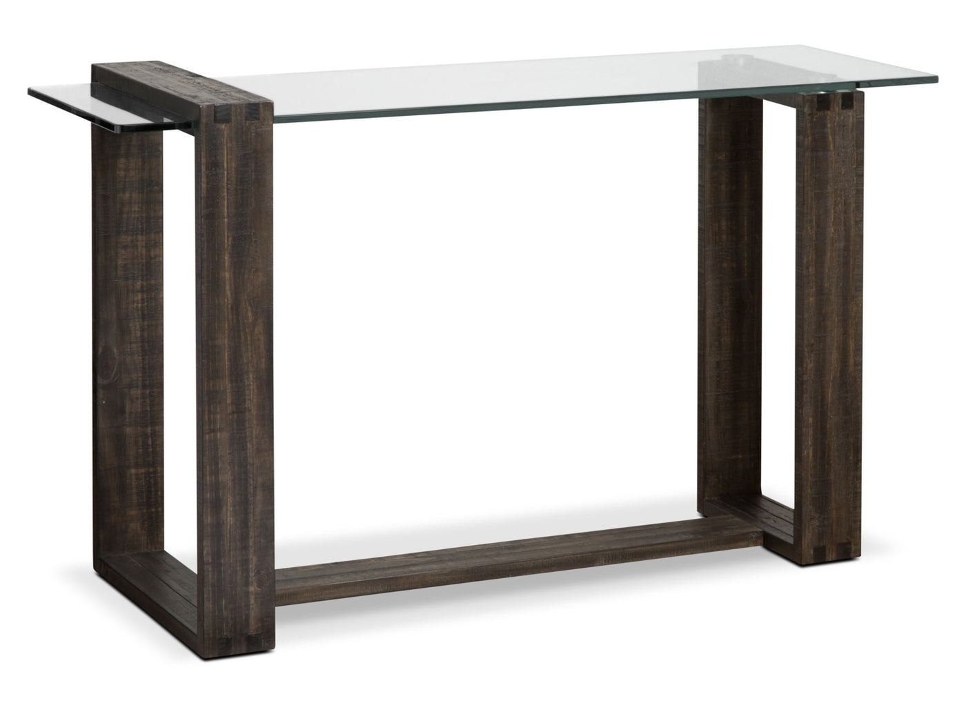 Table de salon moderne calistoga brick - Table salon moderne ...