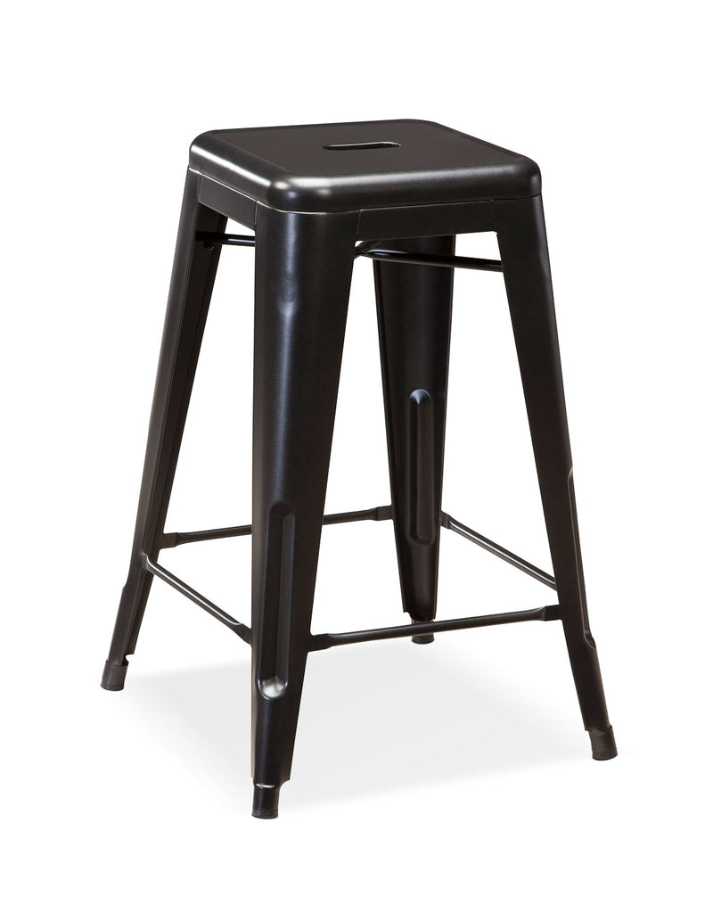 Pinnadel Stackable Counter-Height Stool|Tabouret superposable Pinnadel de hauteur comptoir