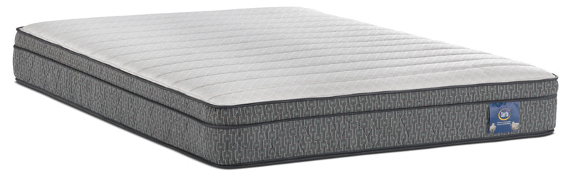 Serta Always Comfortable® Webber Euro-Top Twin Mattress|Matelas à Euro-plateau Webber Toujours Confortable de Serta pour lit simple