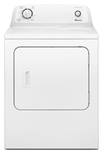 Amana 6.5 Cu. Ft. Electric Dryer with Automatic Dryness Control – YNED4655EW - Dryer in White
