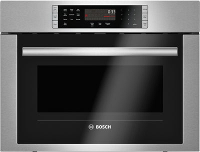 "Bosch 24"" Two-in-One Microwave and Convection Oven – HMC54151UC - Built-In Microwave in Stainless Steel"
