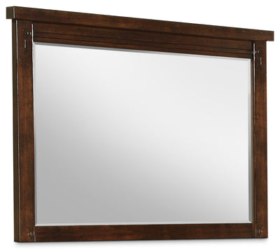 Sonoma Mirror - Dark Brown - Rustic style Mirror in Dark Brown