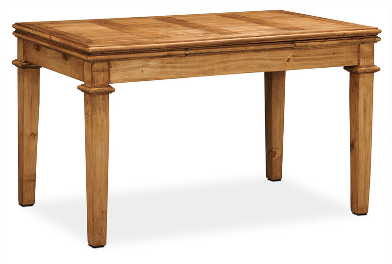 Santa Fe Rusticos Solid Pine Dining Table - Rustic style Dining Table in Pine