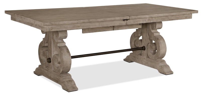 Keswick Dining Table – Dovetail Grey|Table de salle à manger Keswick – gris tourterelle