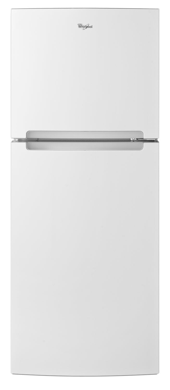 Whirlpool 11 Cu Ft Top Freezer Refrigerator Wrt111sfdw The Brick