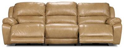 Marco Genuine Leather 3-Piece Power Reclining Sectional – Toffee|Sofa sectionnel à inclinaison électrique Marco 3 pièces en cuir véritable - caramel|MARC2O3B