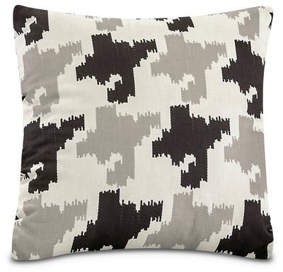 Houndstooth Accent Pillow – White, Black and Grey|Coussin décoratif pied-de-poule - blanc, noir et gris|792850DP