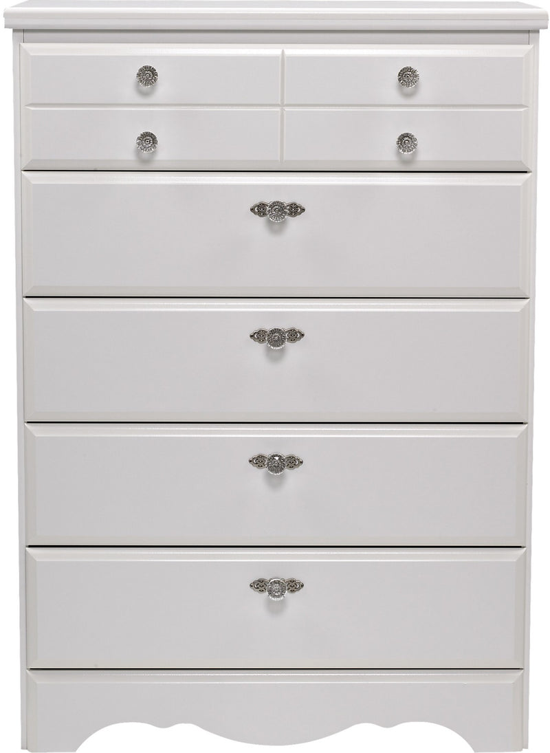 Diamond Dreams 5-Drawer Chest|Commode à 5 tiroirs Diamond Dreams