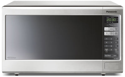 Panasonic Genius® 1.2 Cu. Ft. Countertop Microwave – NNST681SC - Countertop Microwave in Stainless Steel