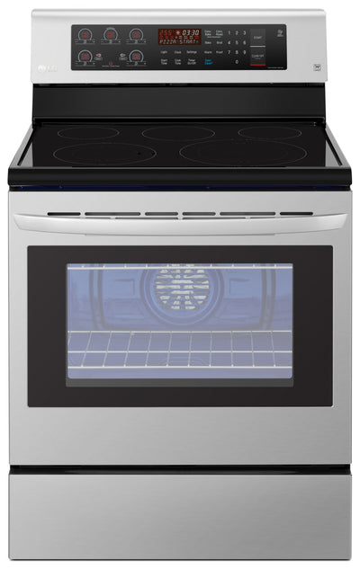 LG 6.3 Cu. Ft. Freestanding Convection Electric Range – LRE3193ST - Electric Range in Stainless Steel