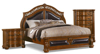 Morocco 5-Piece King Bedroom Set with Chest and Nightstand