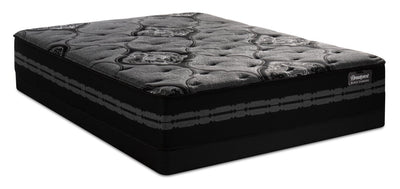 Beautyrest® Black Diamond Waterfront Low-Profile Queen Mattress Set|Ensemble matelas à profil bas Waterfront Black Diamond de BeautyrestMD pour grand lit|WFRNTLQP