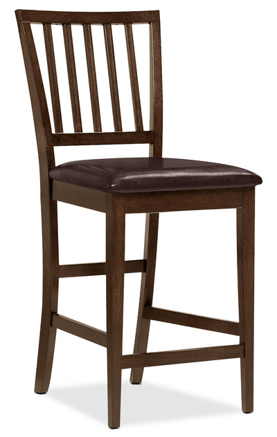 Dakota Counter Height Dining Chair - Contemporary style Dining Chair in Dark Cherry