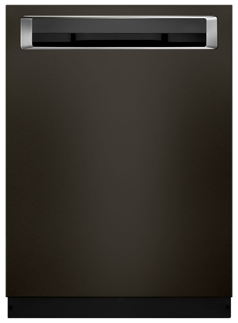 KitchenAid Dishwasher with Clean Water Wash System and PrintShield™ Finish – KDPM354GBS - Dishwasher in Black Stainless Steel
