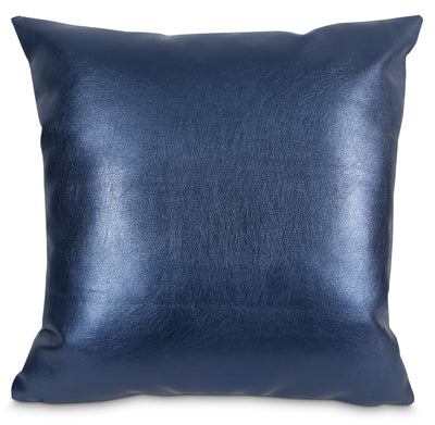 Metallika Accent Pillow – Blue|Coussin décoratif Metallika - bleu|72953ADP