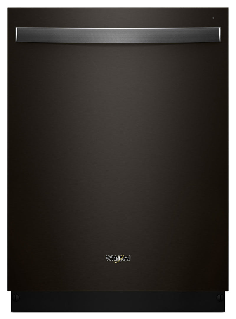 Whirlpool Stainless Steel Tub Dishwasher with Third Level Rack – WDT970SAHV - Dishwasher in Black Stainless Steel