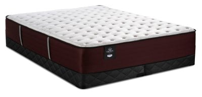 Sealy Crown Jewel Duke of Wellington Queen Mattress with 2 Low-Profile Split Sealy 2020 Boxsprings|Ensemble matelas Duke of Wellington Crown Jewel grand lit et sommier divisé à profil bas 2020 Sealy|WELLLSQP