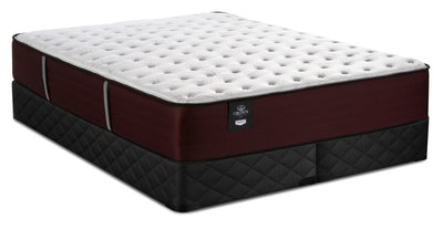Sealy Posturepedic Crown Jewel Duke of Wellington Queen Mattress with 2 Split Sealy 2020 Boxsprings|Ensemble matelas Duke of Wellington Crown Jewel pour grand lit et sommier divisé 2020 de Sealy|WELLISQP