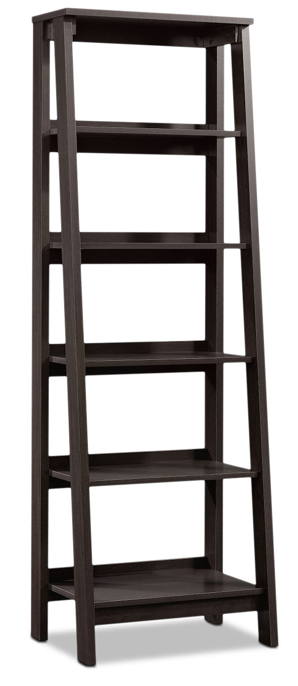 Stockbridge Bookcase with Five Shelves – Jamocha Wood|Bibliothèque Stockbridge à cinq tablettes - bois jamocha|414602