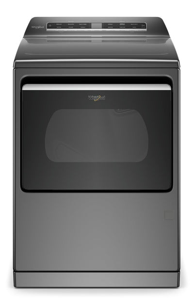 Whirlpool 7.4 Cu. Ft. Smart Front-Load Electric Dryer - YWED7120HC|Sécheuse électrique intelligente Whirlpool de 7,4 pi3 à chargement frontal - YWED7120HC|YWED712C