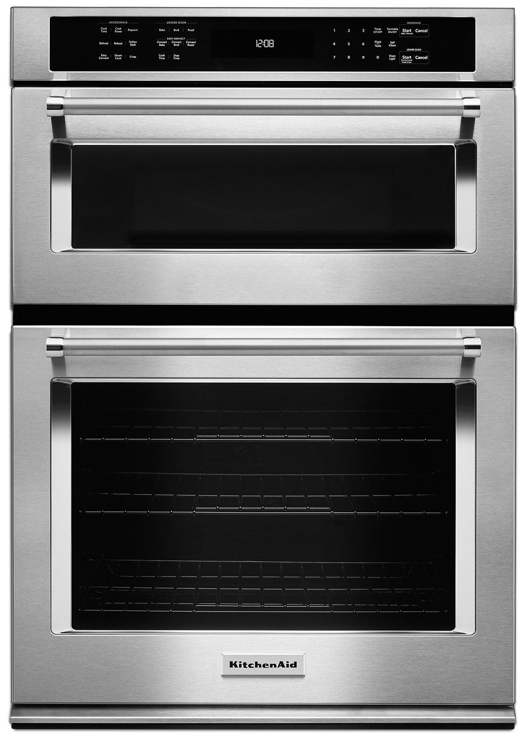 """kitchenaid 30"""" combination wall oven with even-heat™ true convection"""